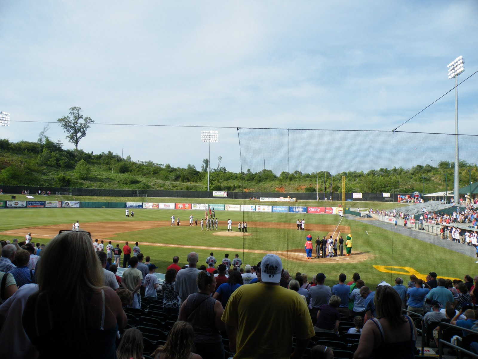 Chattanooga Lookouts at Tennessee Smokies