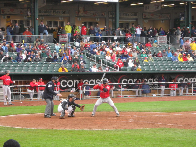 New Hampshire Fisher Cats at Portland Sea Dogs