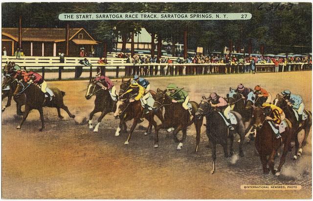 Saratoga Horse Racing Fourstardave Tables