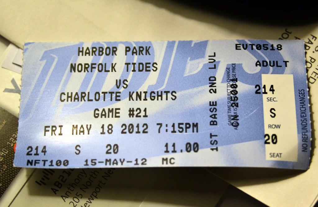 Norfolk Tides at Charlotte Knights