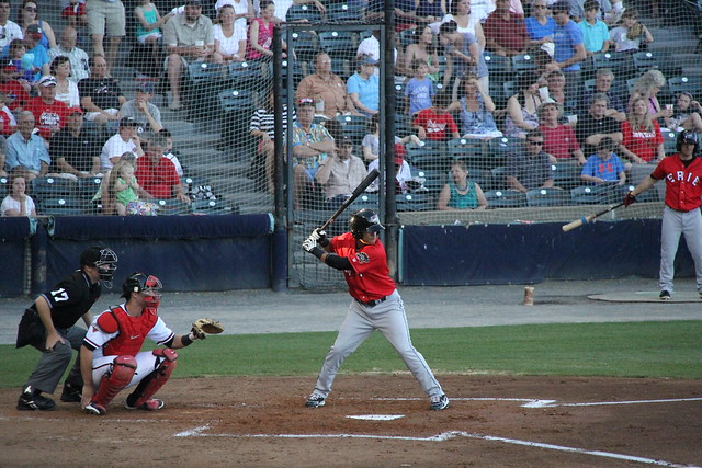 Richmond Flying Squirrels at Erie SeaWolves