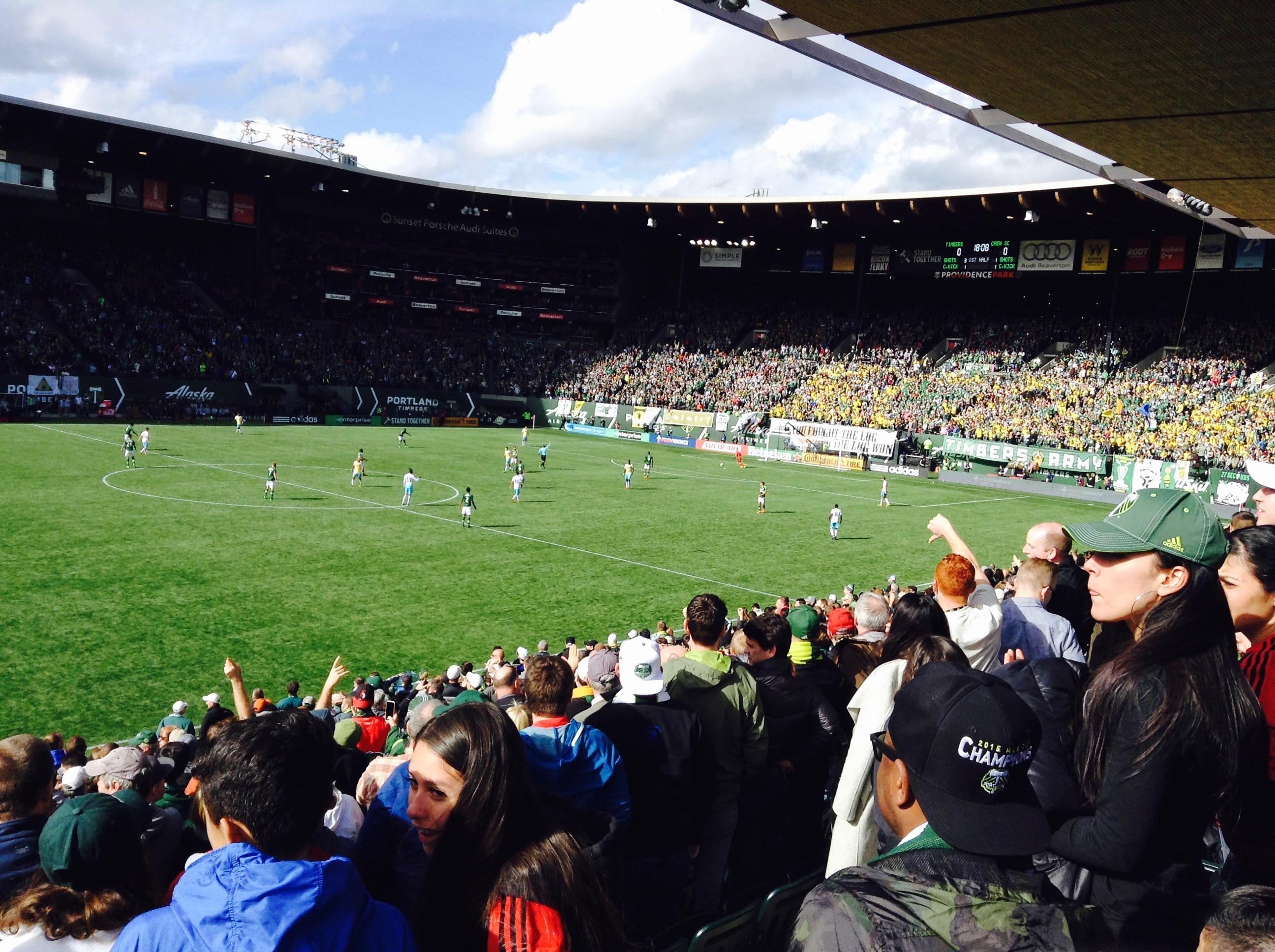 Columbus Crew SC at Portland Timbers