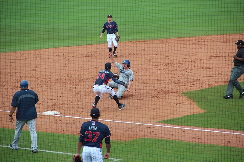Asheville Tourists at Rome Braves